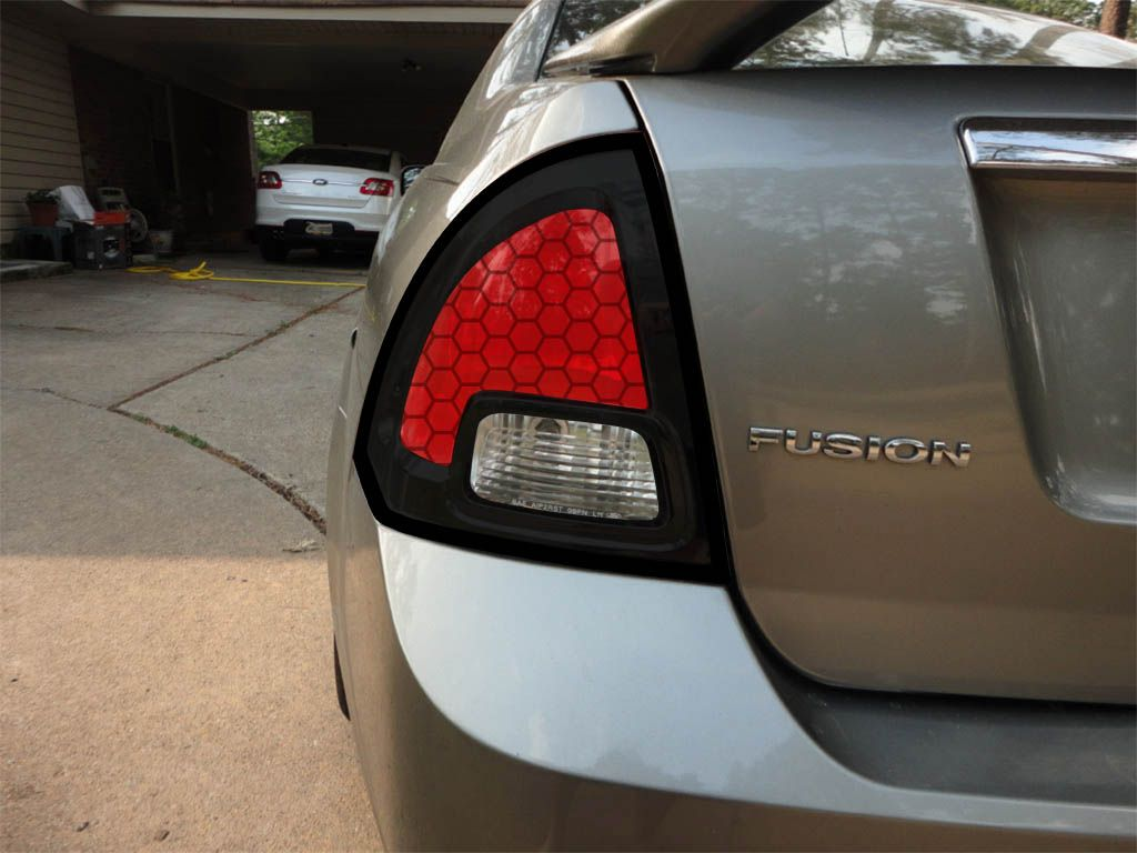 Book Cover Black Fusion : Tail light mod fordfusionclub the ford fusion