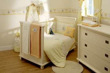decoração de quarto infantil elegante