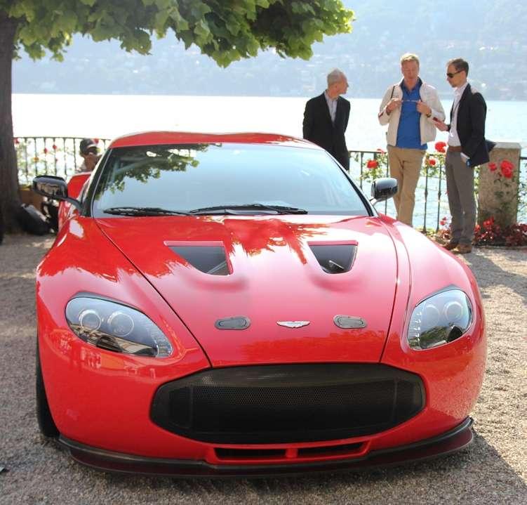 Bmw Zagato: POWER CARS: Aston Martin V12 Zagato