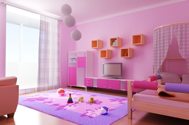 Girl Kids Rooms Decorating Ideas